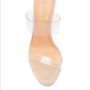 Ariella Heel in Transparente Schutz size 6